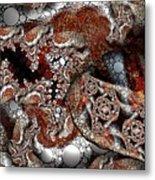 Fraccircle Metal Print