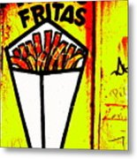 French Fries Santiago Style  Metal Print by Funkpix Photo Hunter