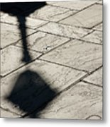 French Quarter Shadow Metal Print