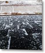 Fresh Snow 2 Wc  Metal Print