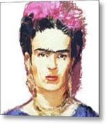 Frida Metal Print by Russell Pierce