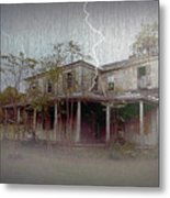 Frightening Lightning Metal Print