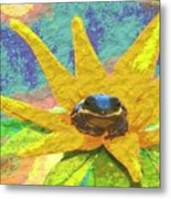 Frog A Lilly 3 - Photosbydm Metal Print