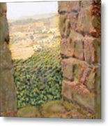 From The Castle Walls Metal Print