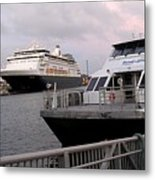 From The Ferry Dock Metal Print