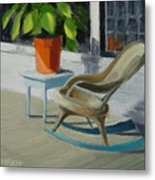 Front Porch Memories Metal Print