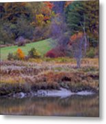 Frosty Autumn Morn Metal Print