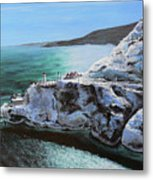 Frosty Fort Amherst Metal Print