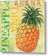 Froyo Pineapple Metal Print