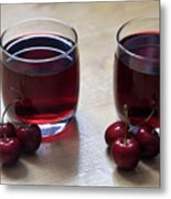 Fruity Cherry Metal Print by Tracy Hall