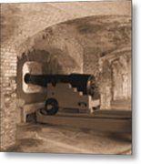 Ft Sumpter Defense Metal Print
