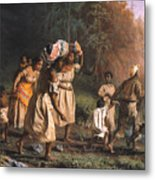 Fugitive Slaves, 1867 Metal Print by Granger