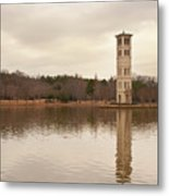 Furman Bell Tower 4 Metal Print