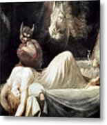Fuseli: Nightmare, 1781 Metal Print