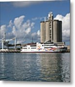 Gambling Ship Liquid Vegas In Florida Metal Print