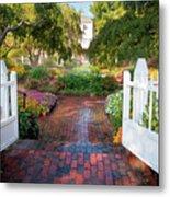 Garden Gate Metal Print