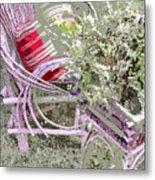Garden Tea Metal Print