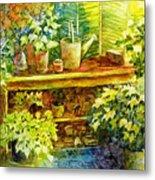 Gardener's Joy Metal Print