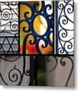 Gate Designs Metal Print