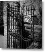 Gate In Macroom Ireland Metal Print