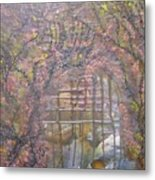 Gateway To Positive Change Metal Print