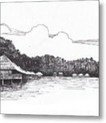 Gayana Island Resort Metal Print