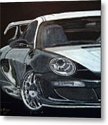 Gemballa Porsche Right Metal Print