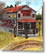 General Store Metal Print by Mike OBrien