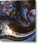Gentle River Ripple-1 Metal Print