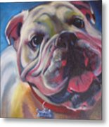 Georgia Bulldog Metal Print