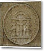 Georgia Seal Metal Print