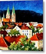 Germany - Freiburg  Metal Print