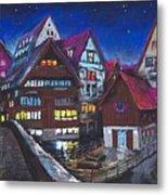 Germany Ulm Fischer Viertel Metal Print