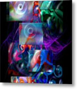 Get It In Gear Metal Print