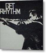 Get Rhythm Metal Print by Pete Maier