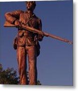 Gettysburg Statue Metal Print