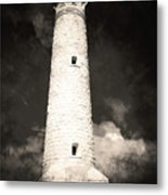 Ghostly Lighthouse Metal Print