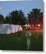 Ghosts In Williamsburg Metal Print