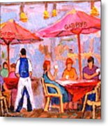 Gibbys Cafe Metal Print