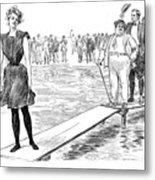 Gibson: Bather, 1900 Metal Print