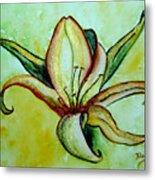 Gilded Lily Metal Print