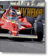 Gilles At Long Beach Metal Print by Mike Flynn