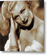 Ginger Rogers, Actress Metal Print