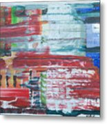 Glass Blocks Metal Print