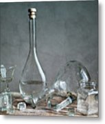Glass Metal Print