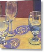 Glasslights Metal Print