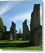 Glastonbury Abbey 3 Metal Print
