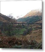 Glen Finnian Viaduct Metal Print