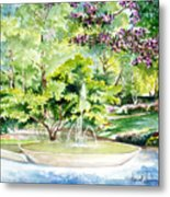 Glencairn Fountain Metal Print