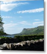 Glencar Lake With View Of Benbulben Ireland Metal Print